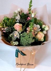 With love Hand tied bouquet